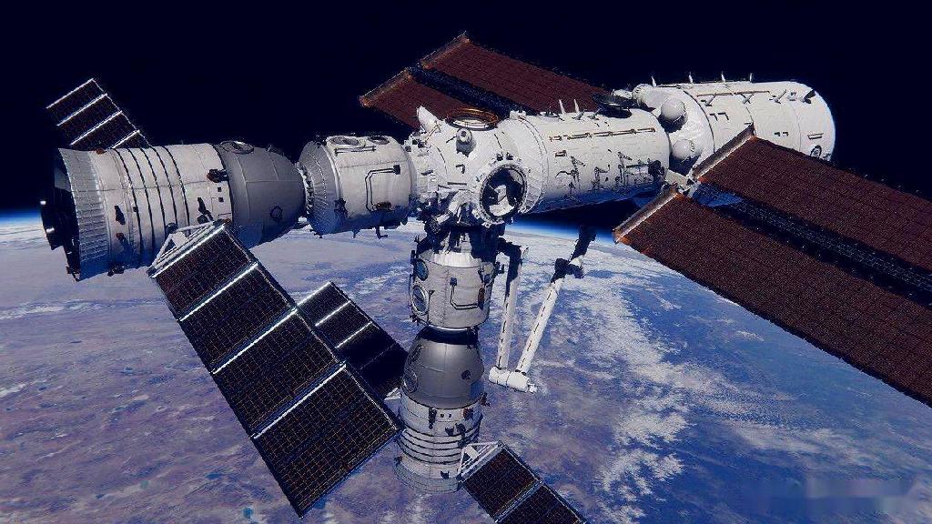 神舟十二号载人飞船与空间站核心舱成功实施分离