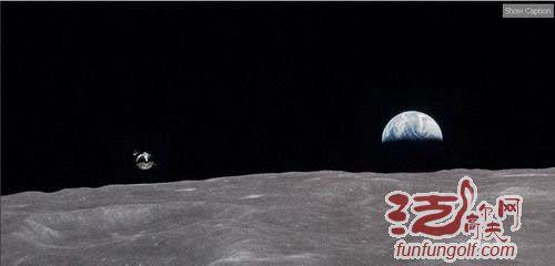 <em>登月</em>宇航员曾在月球打高尔夫