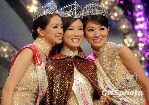 爆香港小姐冠军刘倩婷个人资料_中国山东网
