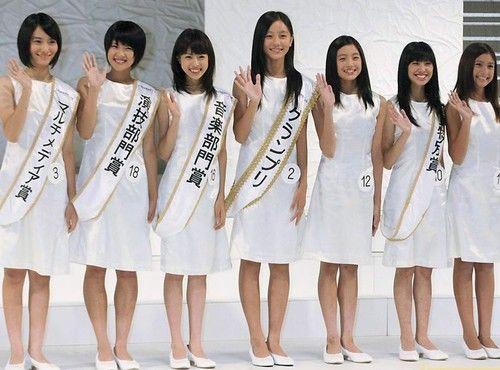 第12届日本国民美少女出炉图