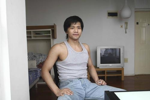 前吸毒国门刘云飞现身 离开足球义无反顾(图)