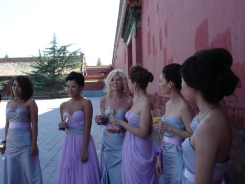 叶剑英老帅的小孙女叶明子9月9日在北京太庙成婚图片