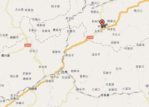 陕西甘肃四川三省交界处发生5.1级地震