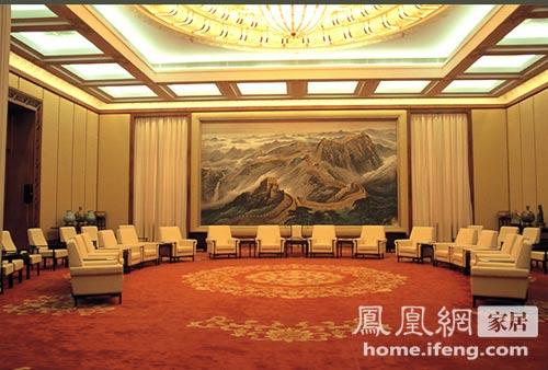 揭秘人民大会堂金色大厅室内装修