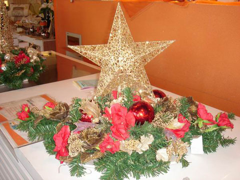 可爱的圣诞家居装饰 妩媚你的浪漫小屋(图)