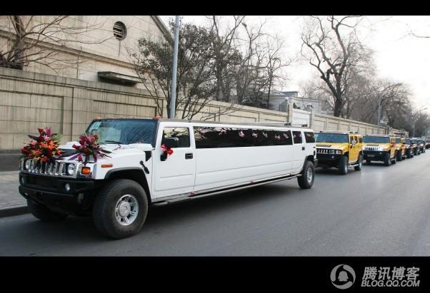 2009年超牛婚礼车队