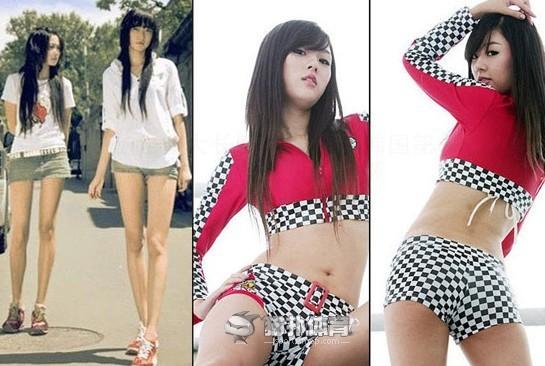体大长腿美女PK韩国第一宝贝 谁更胜一筹(图)