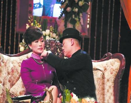 周立波的老婆是谁?新婚妻子胡洁图片
