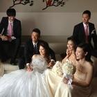 林丹完婚上演童话婚礼 14岁开始暗恋谢杏芳(图)