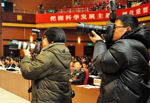 2013烟台两会记者style