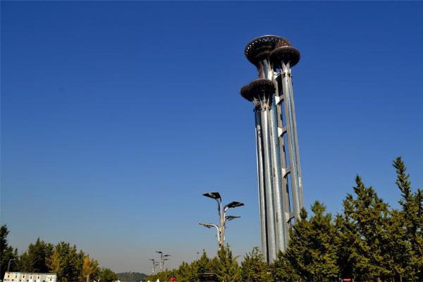 베이징 246미터 '못타워' 관광객 맞이 돌입