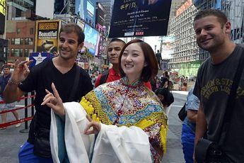 梅派京剧演员纽约重走梅兰芳巡演之路