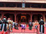 祭孔大典:用以祭祀孔子的大型庙堂祭祀乐舞