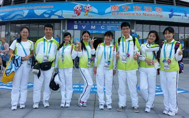 体操世锦赛:中国女子体操队亮相引关注