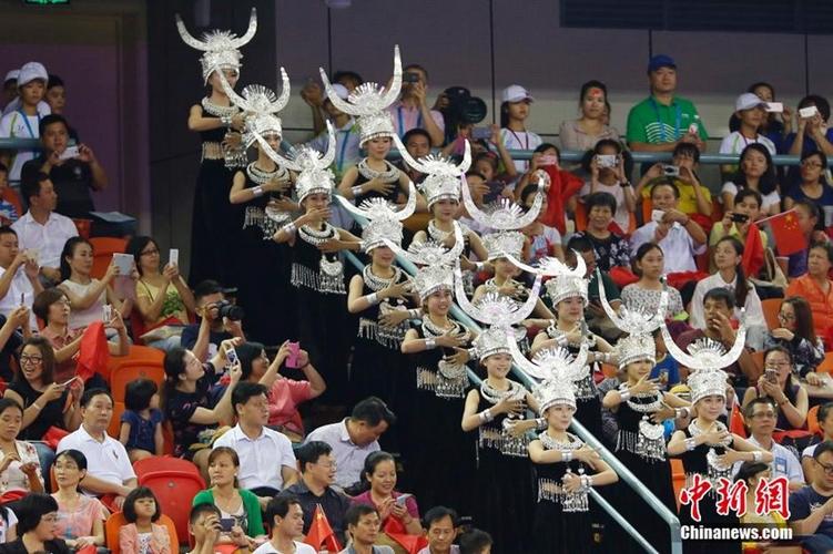 少数民族文艺表演亮相体操世锦赛开幕式