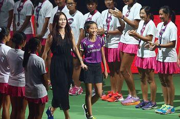 李娜现身WTA决赛