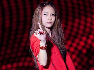 郑秀晶Krystal舞台妆