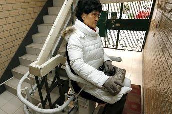 """""""座椅式""""电梯在沪亮相"""