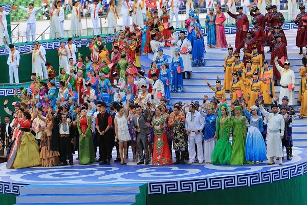 少数民族运动会山东代表赛事回顾(组图)