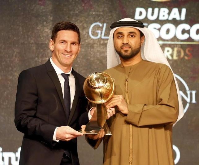 梅西获全球最佳球员