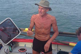 男子穿越太平洋
