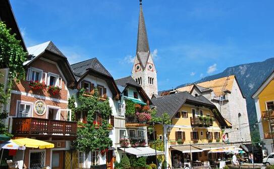 奥地利哈尔施塔特 世界上最美的小镇