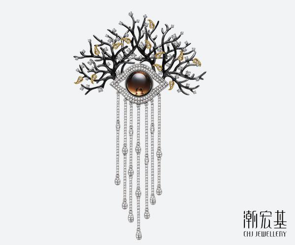 此次获奖作品《智慧之眼》,设计灵感来源于超现实主义绘画大师