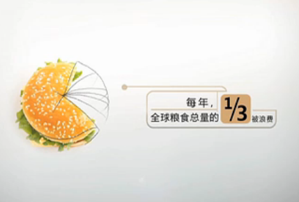 讲文明树新风公益广告:请节约粮食图片