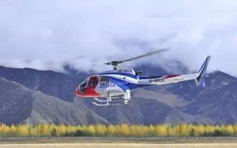 """我国直升机""""低空旅游""""前途可观"""