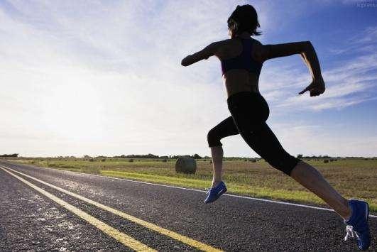 改变姿势去跑步