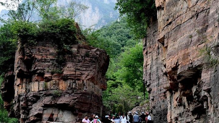 太行深处绝壁峡谷