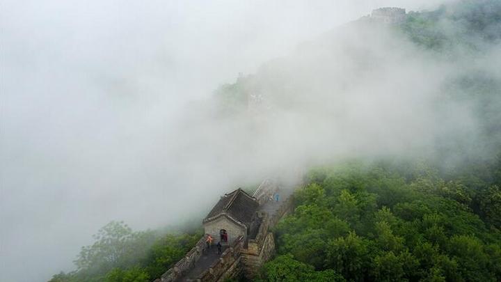 雨雾慕田峪