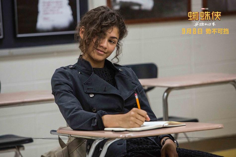 <br/>   小蜘蛛侠同学赞达亚上课记笔记。