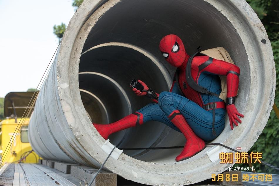 <br/>   小蜘蛛背上书包。<br/>