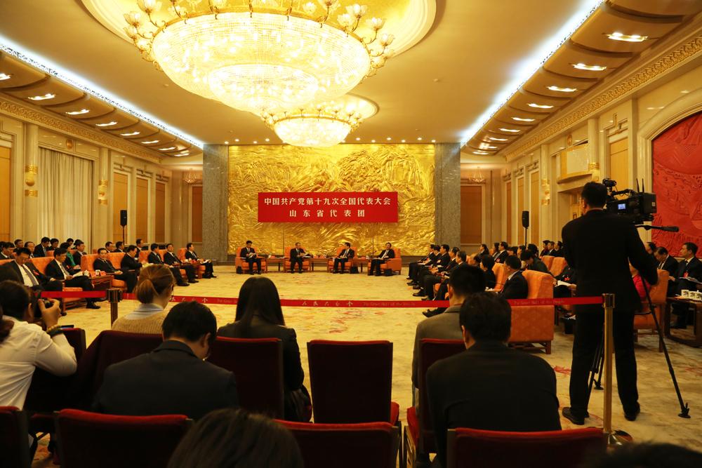山东代表团讨论向媒体开放 mr007亿万先生记者现场报道