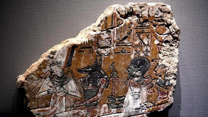 古埃及文物展走进中原