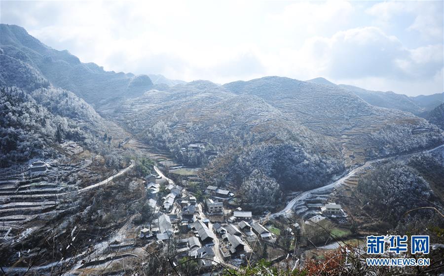 (环境)(2)黔北山乡冬景美