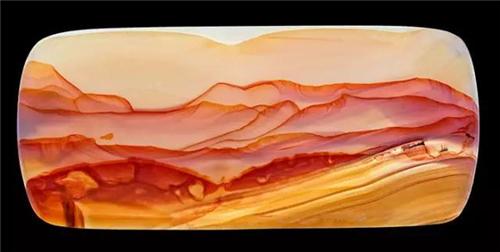 奇石鉴赏:石头里藏着山水画