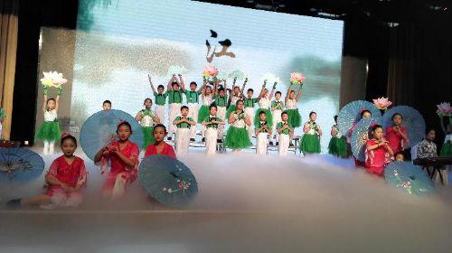 济南市举行小学生中华优秀传统文化展演活动