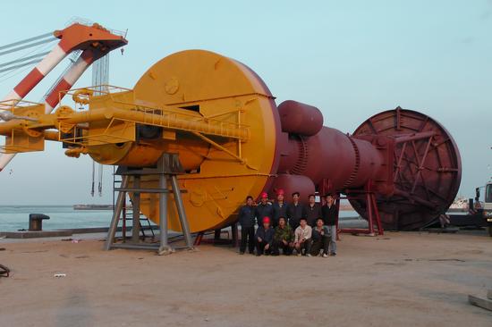 120KW海浪发电装置