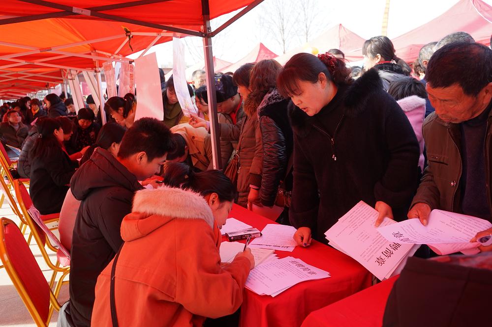 """济南举行3场""""春风行动""""招聘会 劳动力市场供需两旺"""