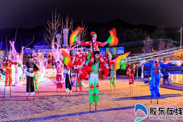 Gorgeous lantern show brightens Yantai to welcome Lantern Festival