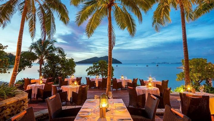 人间天堂海上餐厅 斐济岛给你云上九层极致享受