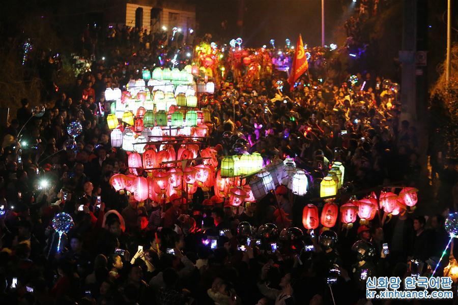 #(新华视界)(1)火灯节 祈丰年