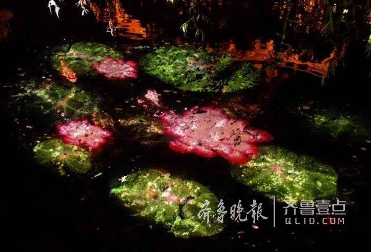 济南大明湖美景。<br/>