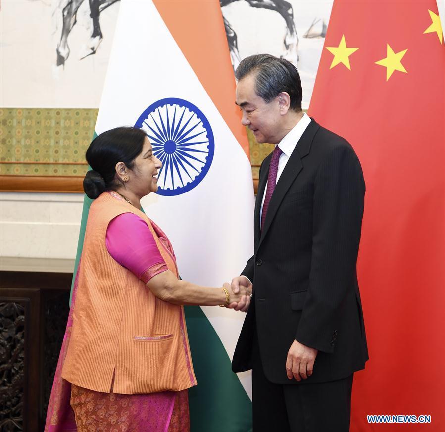 CHINA-BEIJING-WANG YI-INDIA-TALKS (CN)