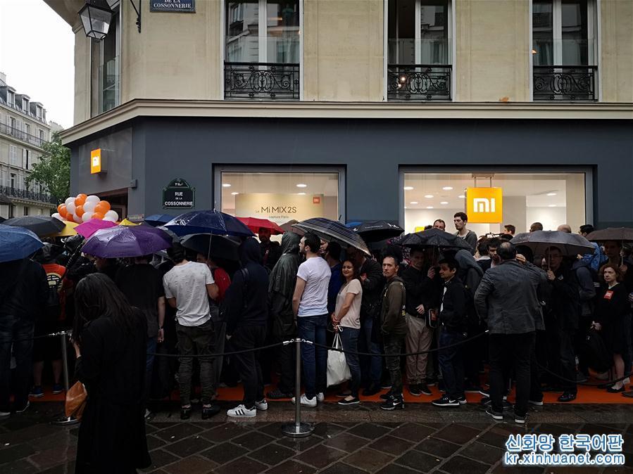 (国际)(1)小米登陆法国进一步开拓欧洲市场