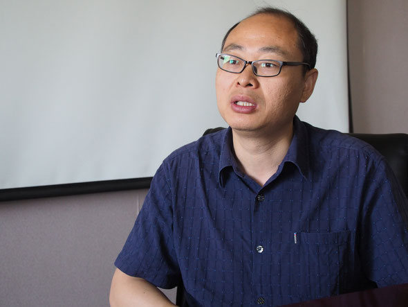 山東商業職業技術学院 情報・芸術学院の朱旭剛副院長