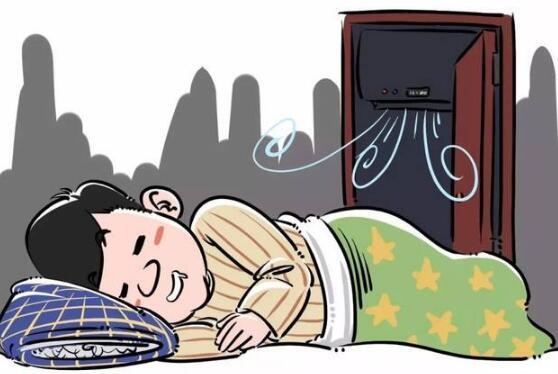 夏天开空调睡觉,为啥易落枕?