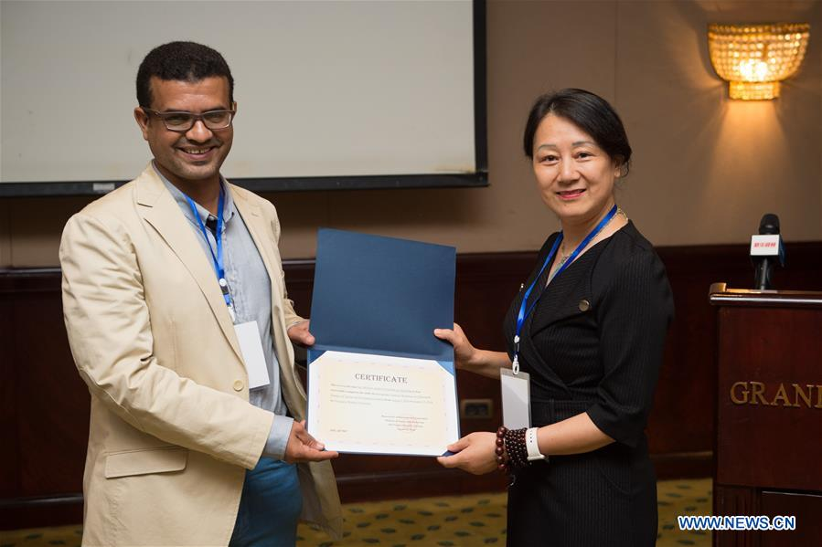 EGYPT-CAIRO-CHINA-ULTRASOUND THERAPY-WORKSHOP-CLOSING CEREMONY